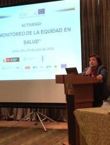 inauguración Dra Gusti, viceministra de salud de Perú