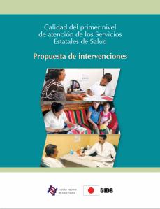 libro calidad propuestas